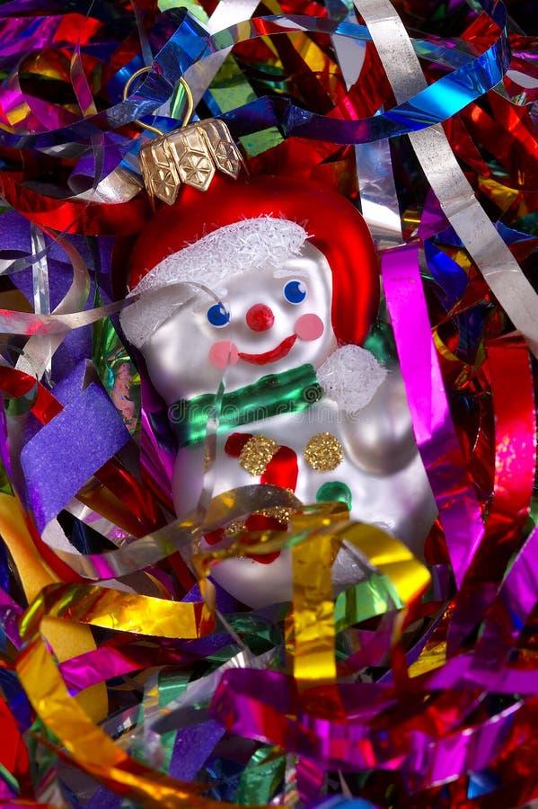 Bonhomme de neige de Noël photos libres de droits