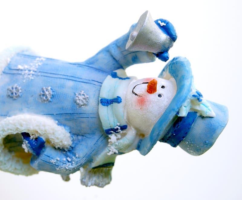 Bonhomme de neige gai photos stock