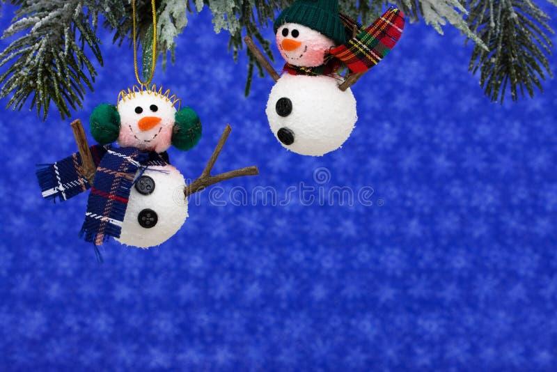 Bonhommes de neige image libre de droits