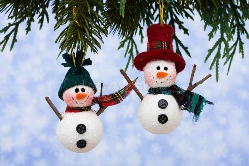 Bonhommes de neige photo libre de droits