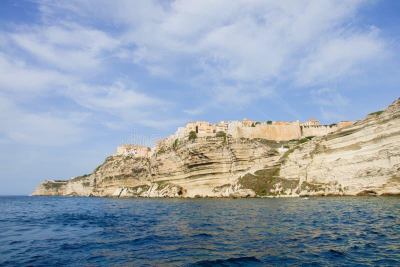 Bonifacio城堡 免版税库存图片