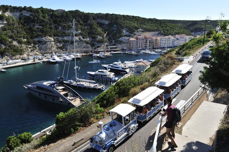 Bonifacio, Κορσική, Γαλλία στοκ φωτογραφίες με δικαίωμα ελεύθερης χρήσης