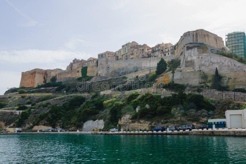 Bonifacio Citadel fotografering för bildbyråer