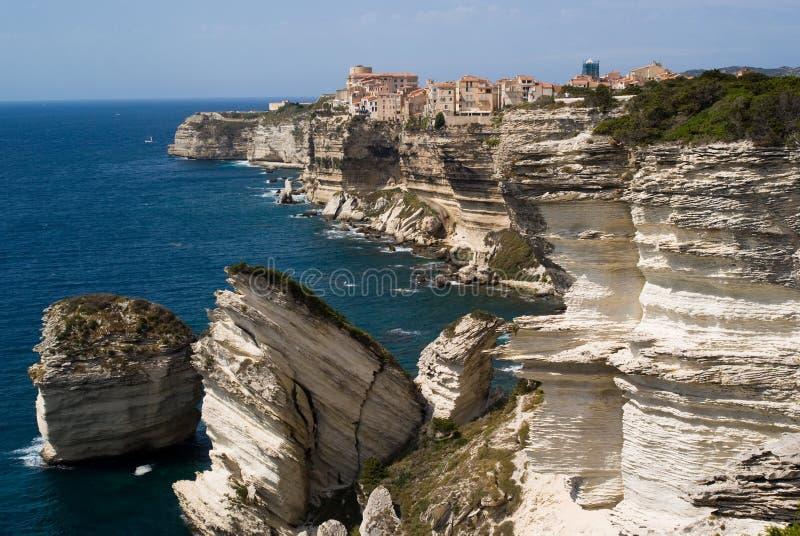 Bonifacio, Corse fotografie stock
