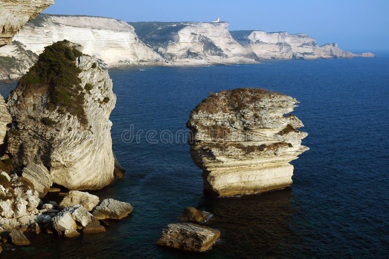 Bonifacio Corse royalty-vrije stock afbeelding