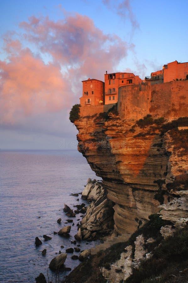 Bonifacio, Corsica stock photography