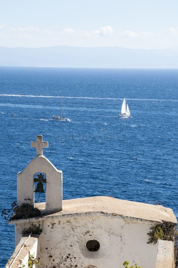 Bonifacio, Corsica, Corse, Zuid-Corsica, zuiden, Frankrijk, Europa, eiland stock foto