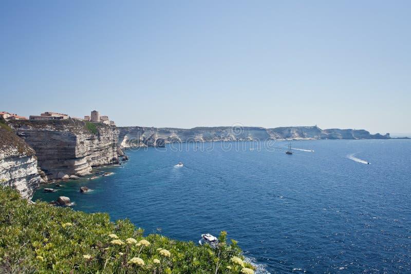 Bonifacio, Corsica, Francja zdjęcia stock