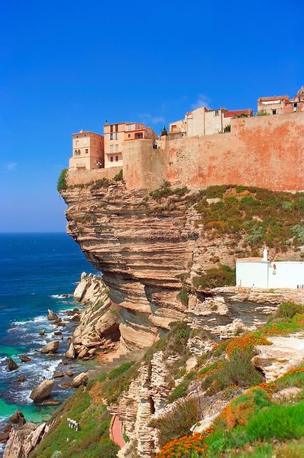 Bonifacio, Corsica royalty free stock photo