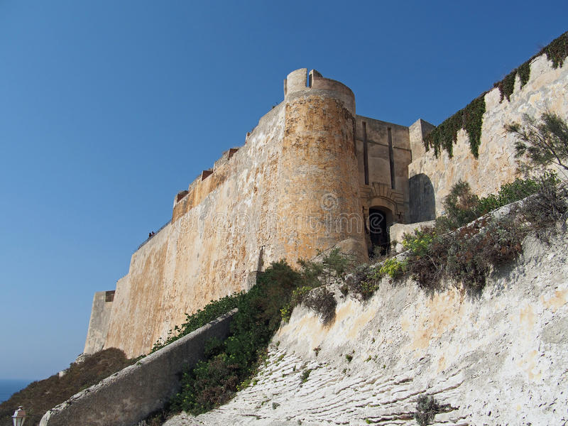 Download Bonifacio Fortification, Corsica Stock Photo - Image: 26635416