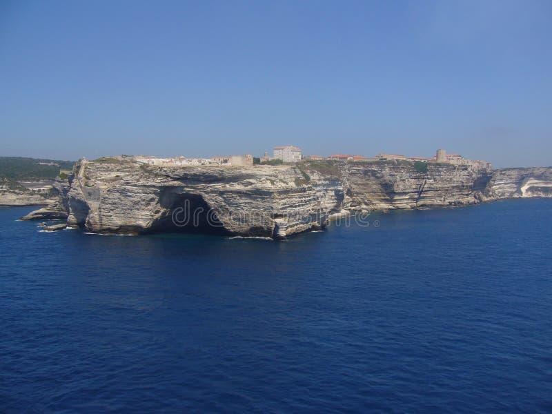 Bonifacio - la Corsica fotografia stock libera da diritti