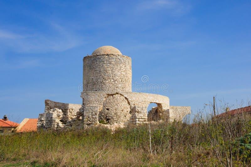 Bonifacio Windmill stockbilder