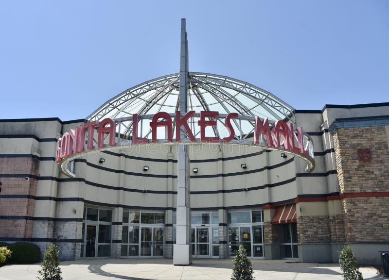 Bonita Lakes Mall, Meridiaan, de Mississippi royalty-vrije stock foto