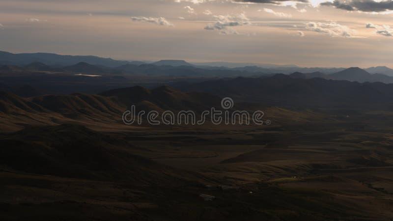 Bonita vista de las montañas de Azrou en Marruecos imagen de archivo libre de regalías