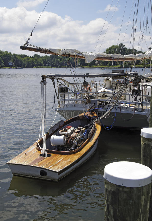 Bonite Pushboat fotografia stock libera da diritti