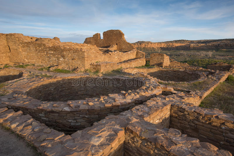 Bonito del pueblo, parque nacional del barranco de Chaco foto de archivo libre de regalías