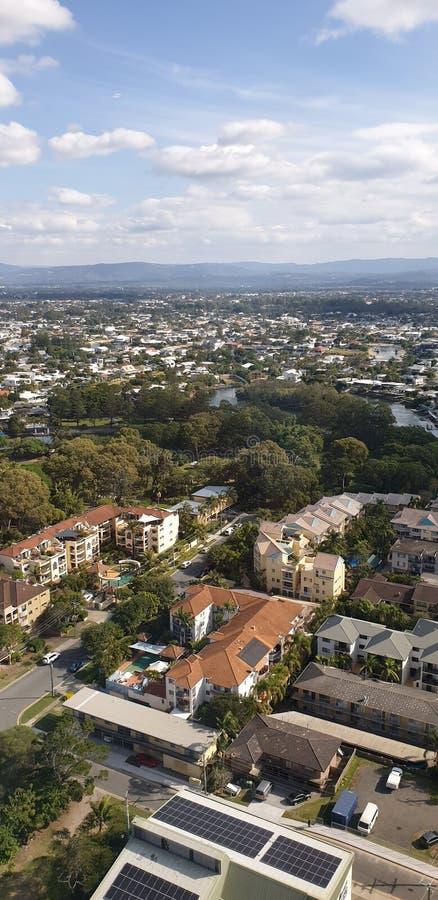 Bonito impressionante de Gold Coast Austrália foto de stock royalty free