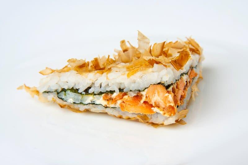 Bonito suszi kanapka z tuńczykiem zdjęcie stock