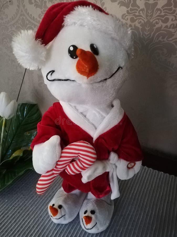 Bonjour Santa Clause Ici Pour Noël photographie stock