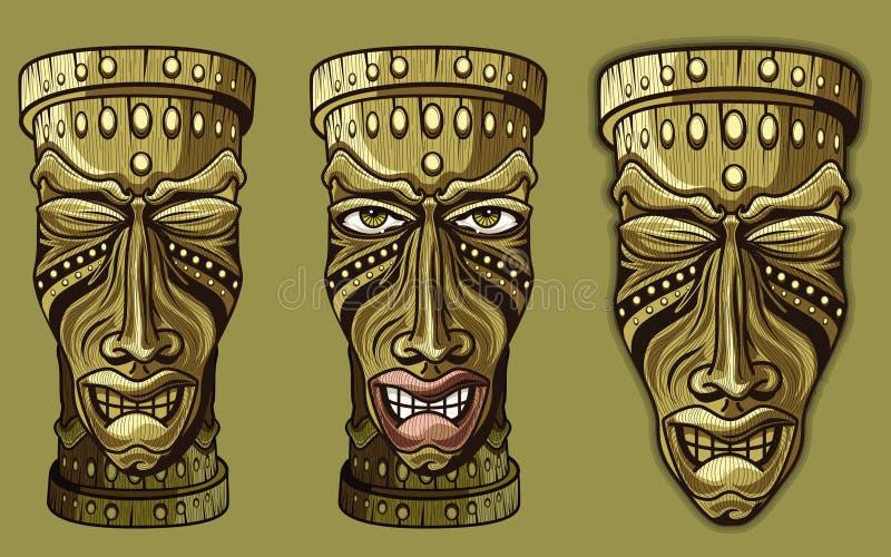 Bonjour Tiki illustration de vecteur