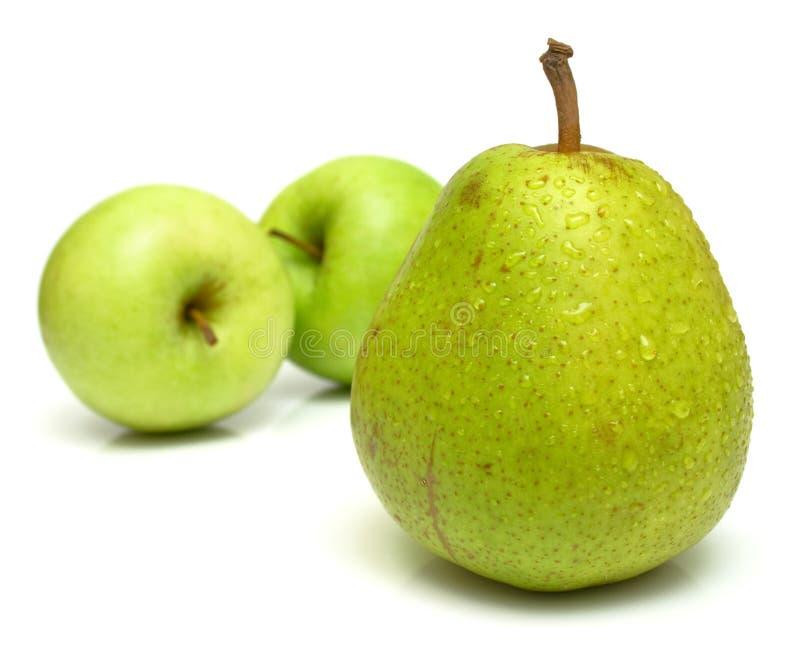 Bonkreta i jabłka obraz royalty free