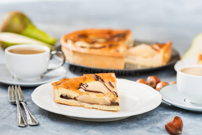 bonkreta tortowy plasterek Jesieni wygody jedzenie obraz royalty free