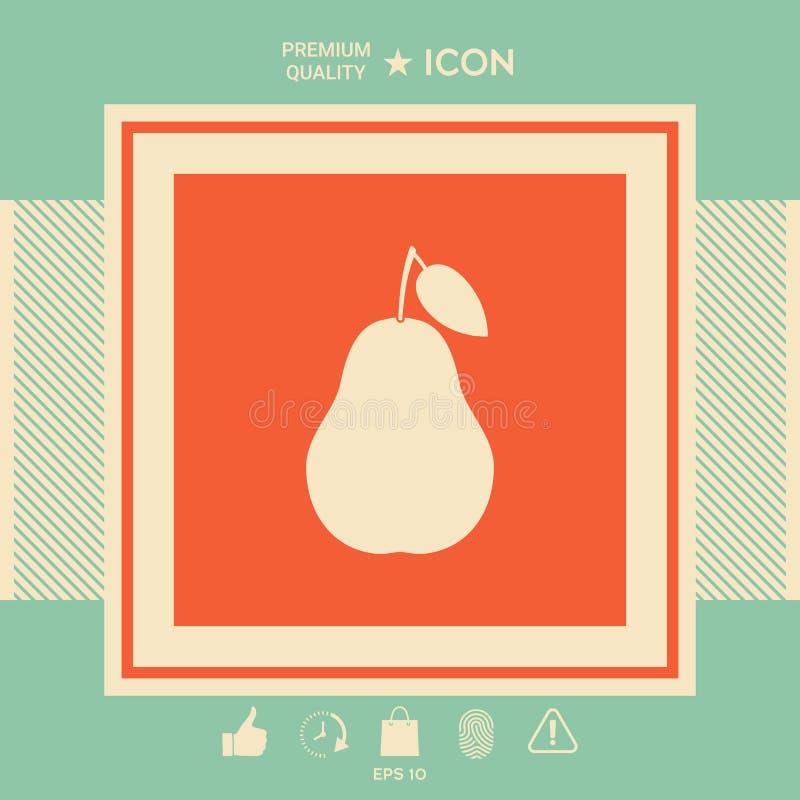 Bonkrety ikony symbol royalty ilustracja