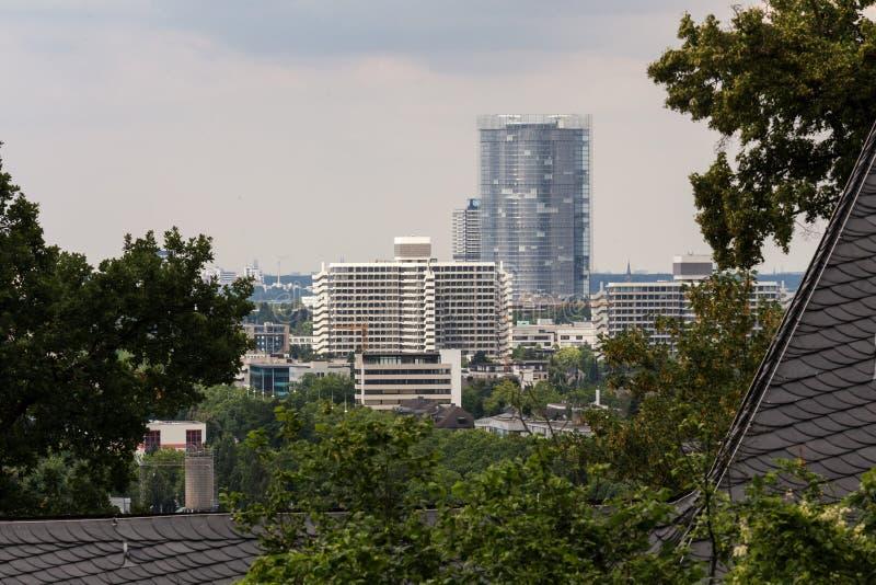 Bonn Alemania desde arriba fotografía de archivo libre de regalías