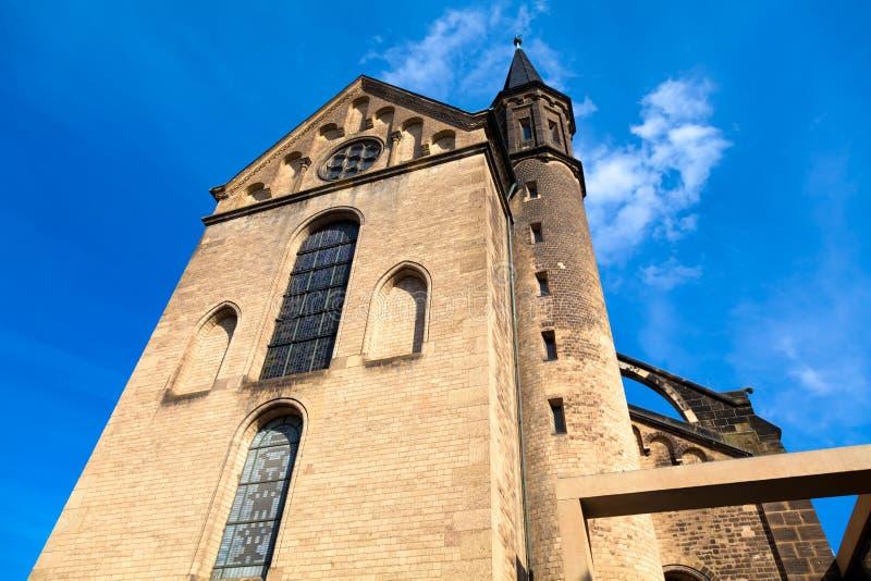 The Bonn Minster royalty free stock photos