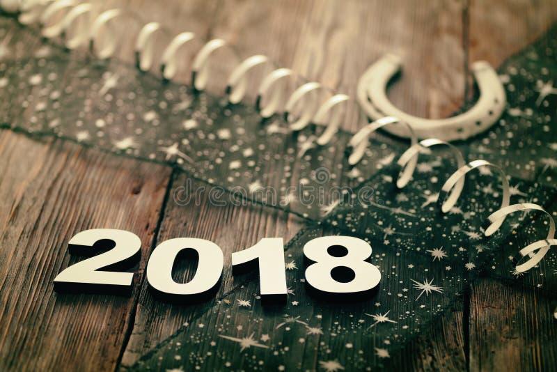 Bonne année 2018 image stock