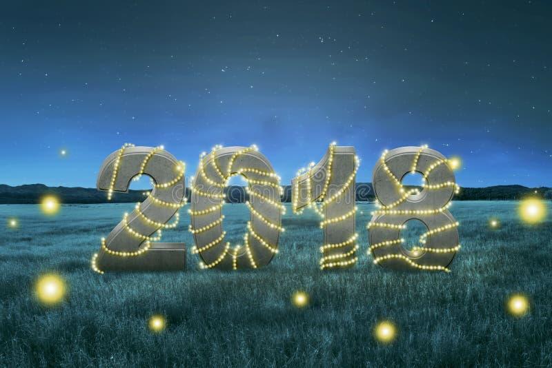 Bonne année 2018 images stock