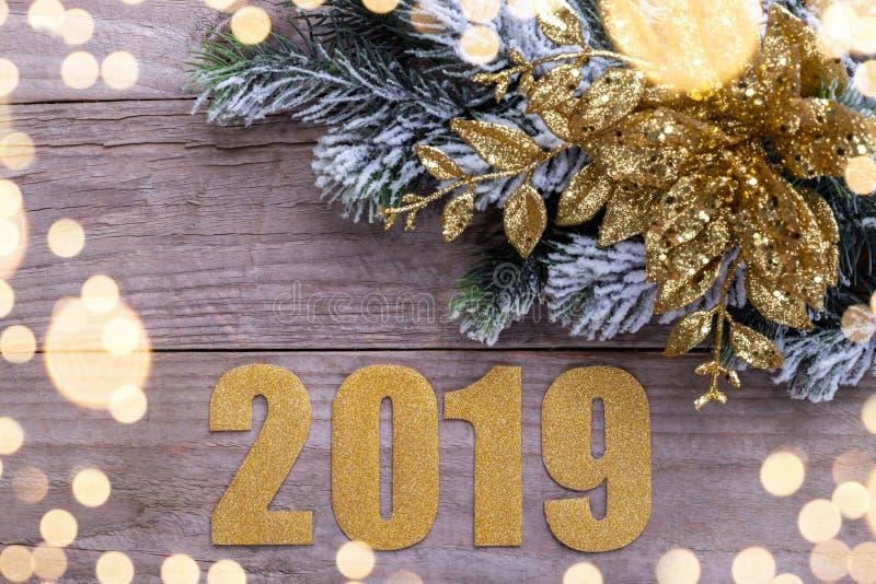Bonne année 2019 image stock