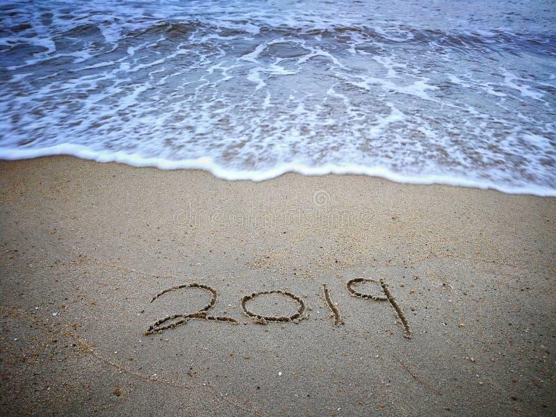 Bonne année 2019 photographie stock
