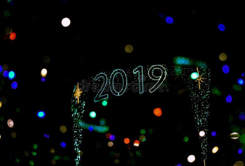 Bonne année 2019 photos libres de droits