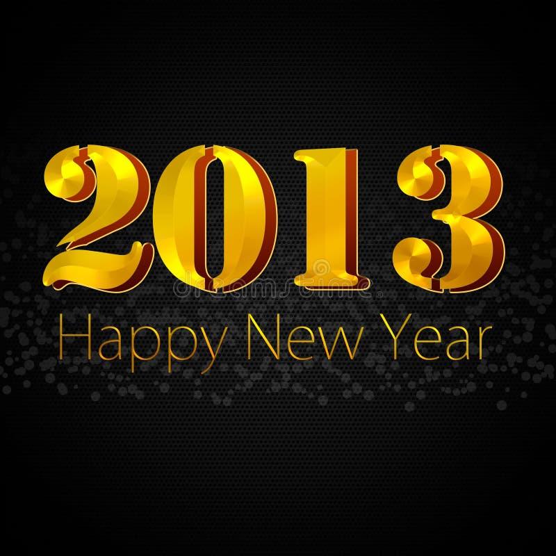 Bonne Année 2013 Photos libres de droits