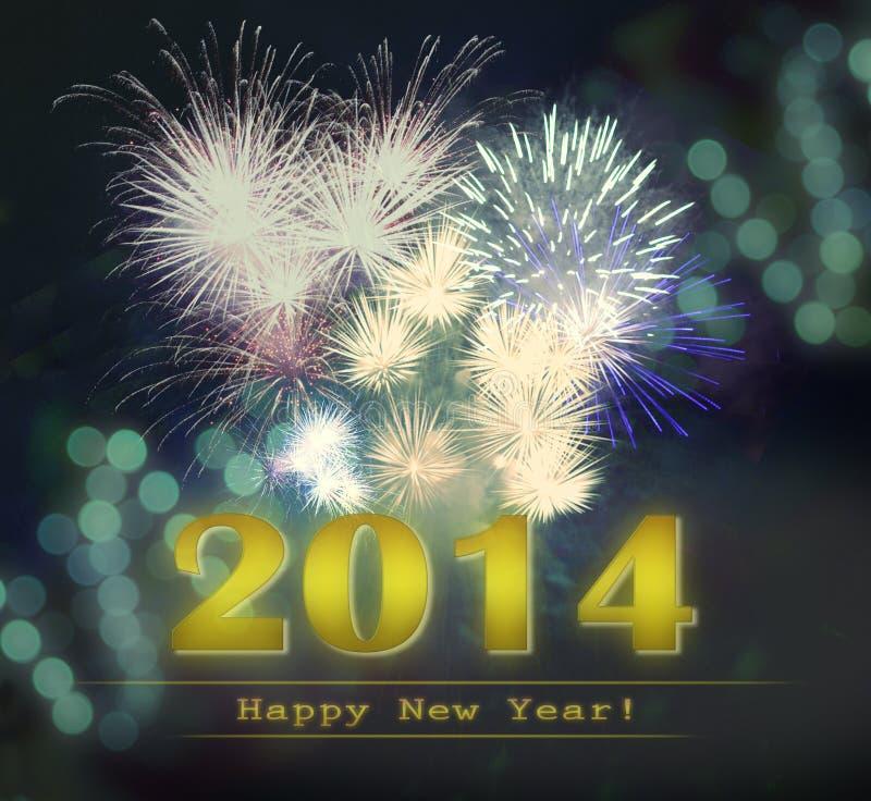 Bonne année 2014 photos libres de droits