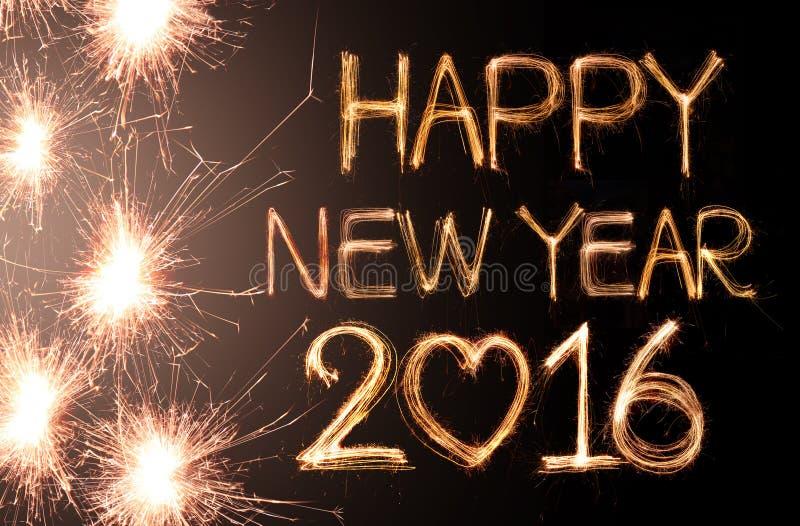 Bonne année 2016 image libre de droits