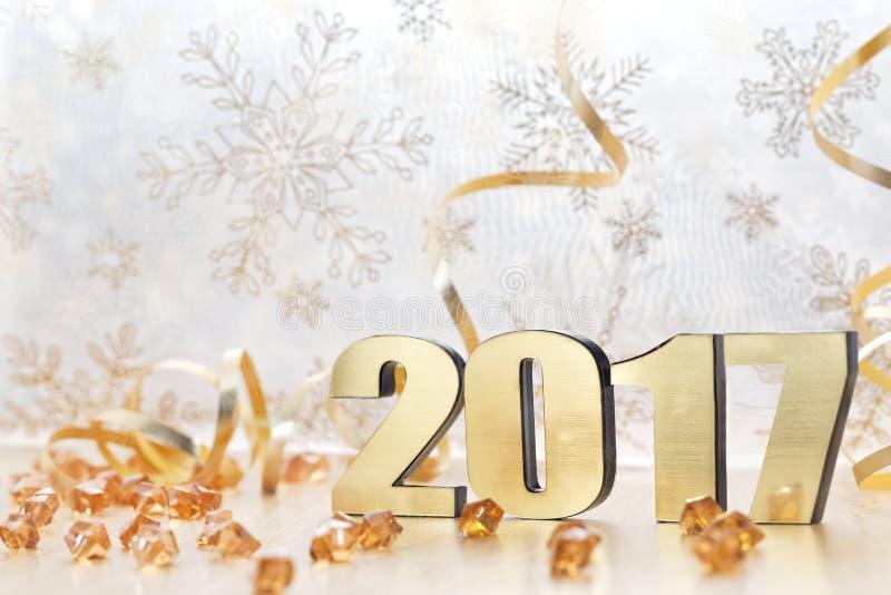 Bonne année 2017 photographie stock