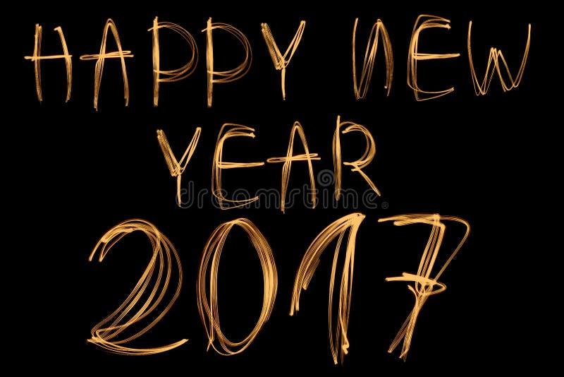Download Bonne année 2017 image stock. Image du décembre, conception - 77156889