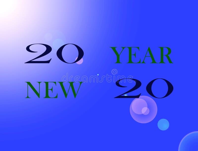 Bonne année d'image illustration libre de droits
