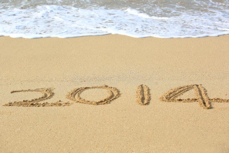 Bonne année de 2014 photos libres de droits