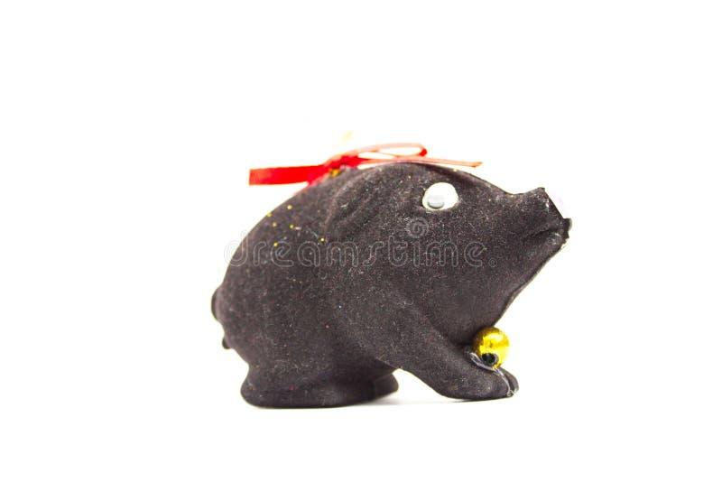 Bonne année ! Illustrez votre travail avec le porc chanceux Nouvelle année IL photo stock