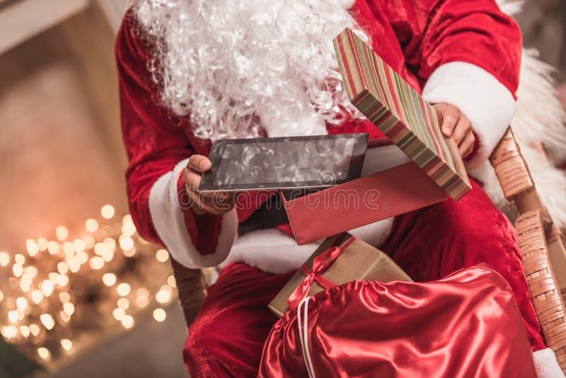 Bonne année ! Santa photographie stock libre de droits