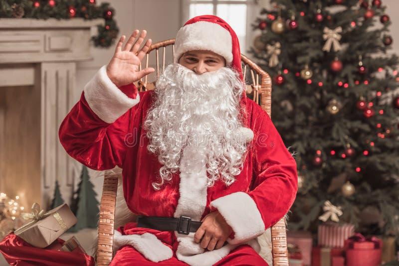Bonne année ! Santa photographie stock