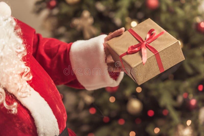 Bonne année ! Santa photo libre de droits