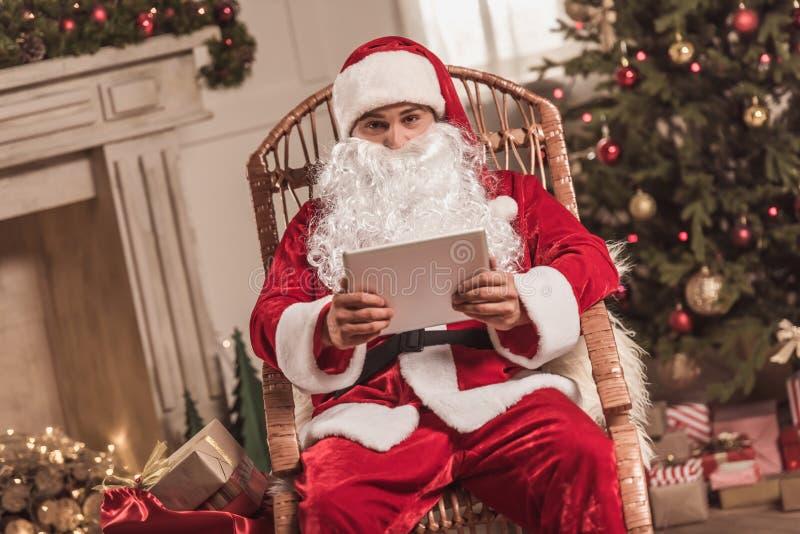Bonne année ! Santa image libre de droits