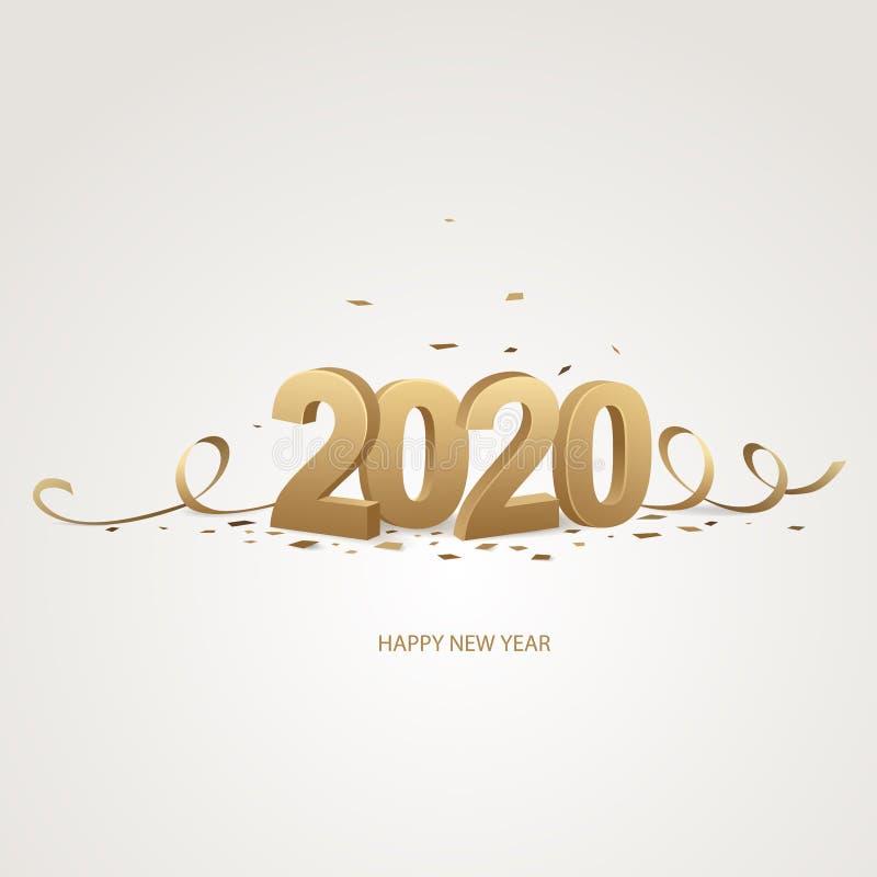 Bonne ann?e 2020 photo libre de droits