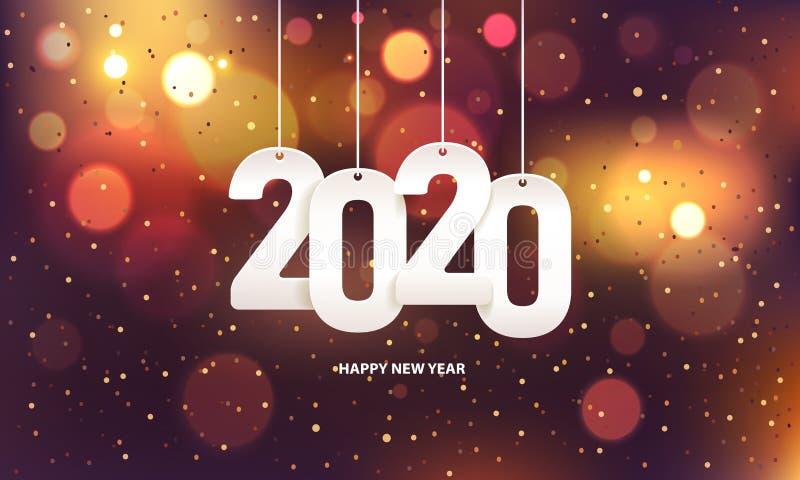 Bonne ann?e 2020 photographie stock