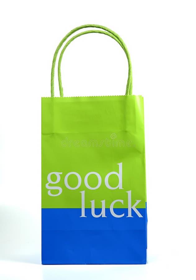 Bonne chance Giftbag image libre de droits