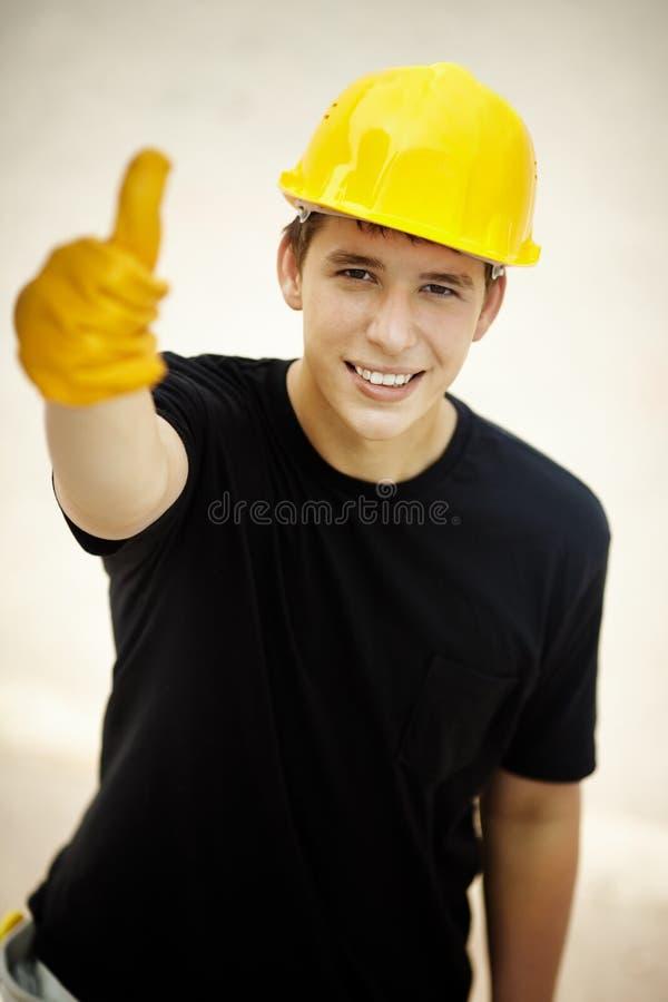 Bonne construction image libre de droits